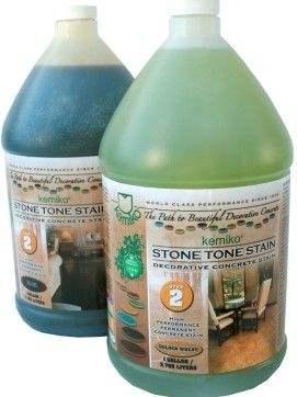 Stone Tone™混凝土酸性着色剂
